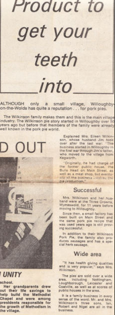 Willoughby in Guardian Journal 1973 part 3