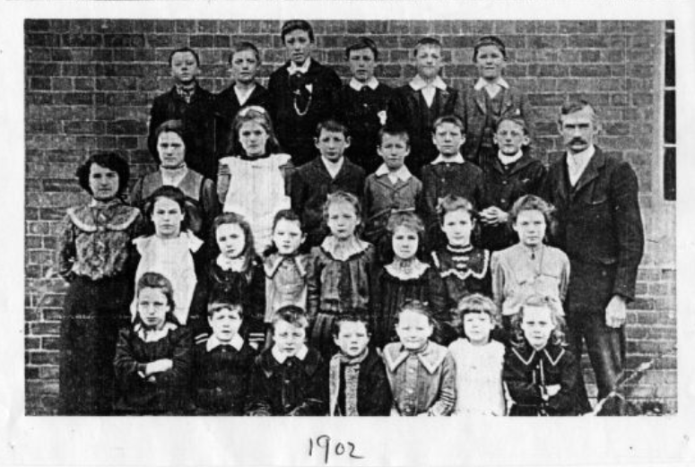 Willoughby School 1902 Head Mr Moorhouse