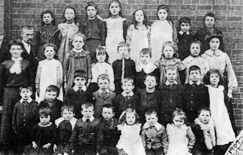 Willoughby School 1907 Head Mr Moorhouse