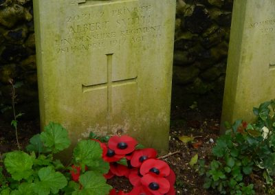 Albert Smith WW1 Remembrance