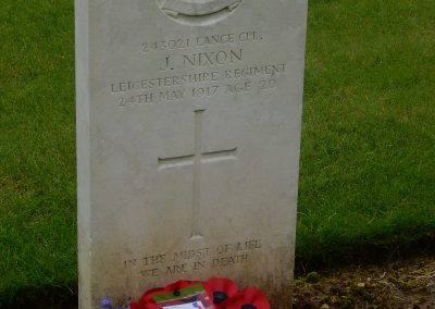 John Nixon WW1 Remembrance