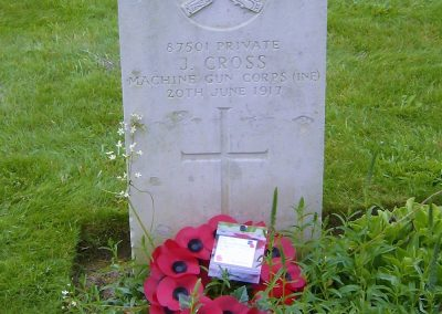 Joseph Cross WW1 Remembrance