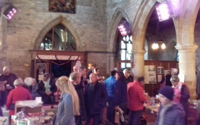 Festive Cheer at the Christmas Fair!