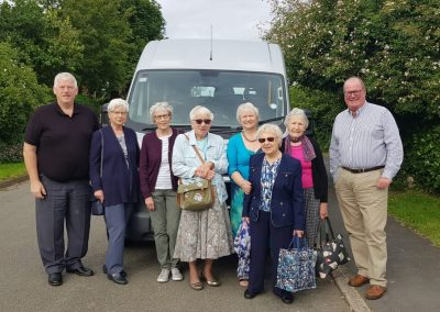 Visit to Denman College, Oxfordshire in the Keyworth Community Bus