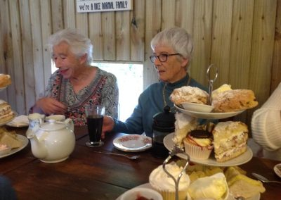 Afternoon tea at Nice Pie, Old Dalby